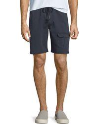 Michael Bastian - Men's Garment-dyed Flap-pocket Shorts - Lyst