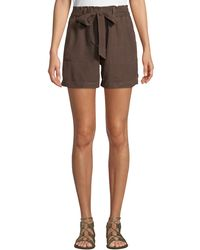 Sanctuary - Muse Paperbag Tie-waist Shorts - Lyst