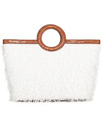 Christian Siriano Sophie Textured Tote Bag