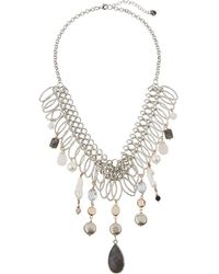 Nakamol - Multi-pearl & Agate Statement Necklace - Lyst