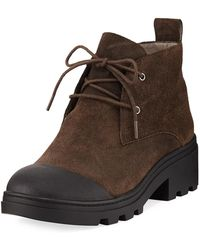Eileen Fisher - Reese Lace-up Booties - Lyst