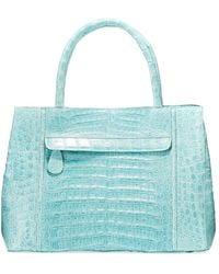 Nancy Gonzalez - Small Sectional Crocodile Tote Bag - Lyst