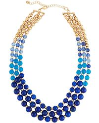Lydell NYC - Multi-row Graduated Bead Necklace - Lyst
