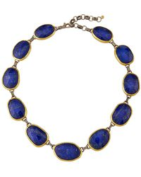Gurhan - Short Lapis Station Necklace - Lyst