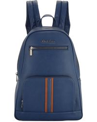 Robert Graham - Perforated Faux-leather Zip Backpack - Lyst
