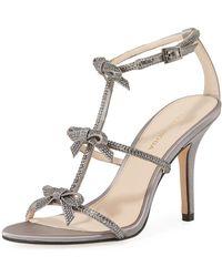 Pelle Moda - Kiss Crystal-embellished High Sandal - Lyst