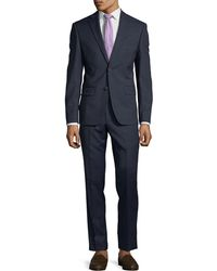 DKNY - Slim-fit Neat Wool Two-piece Suit - Lyst