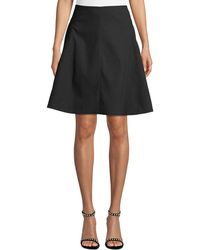 Leon Max - Seamed Flared A-line Skirt - Lyst