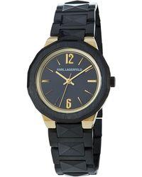 Karl Lagerfeld - 34mm Joleigh Bracelet Watch - Lyst