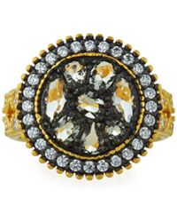 Freida Rothman - Rose D'or Round Pebble Ring Size 8 - Lyst