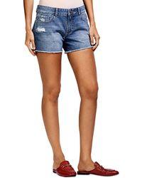 DL1961 - Renee Cutoff Denim Shorts - Lyst