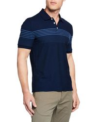 Original Penguin - Men's Heathered Engineered Polo Shirt - Lyst