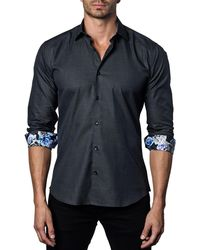 Jared Lang - Men's Semi-fitted Rose-cuff Sport Shirt - Lyst