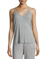 Skin - Vienna Ribbed Lounge Camisole - Lyst