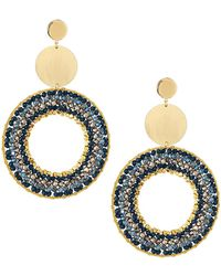 Nakamol - Mixed Crystal Drop Earrings - Lyst