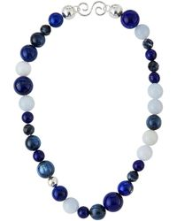 Gurhan - Multi-stone Statement Beaded Necklace - Lyst