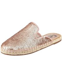 Circus by Sam Edelman - Leanne Sequin Espadrille Mule - Lyst