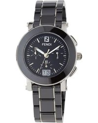 Fendi - 38mm Ceramic Chronograph Watch - Lyst