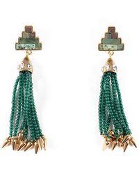 Lulu Frost - Ortigia Tassel Drop Earrings - Lyst
