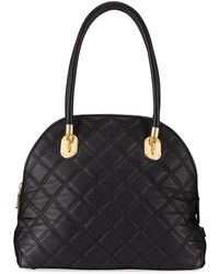 Cole Haan - Benson Quilted Dome Satchel Bag - Lyst