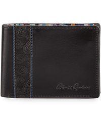 Robert Graham - Men's Lagos Slim Bi-fold Leather Wallet - Lyst