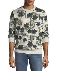 Wesc - Men's Miles Hawaii-print Sweatshirt - Lyst