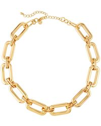 Lydell NYC - Short Link Necklace - Lyst