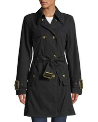 Raison D'etre - Double-breasted Trench Topper Jacket - Lyst