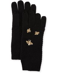 BCBGMAXAZRIA - The Bee's Knees Knit Gloves - Lyst