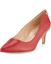 Neiman Marcus - Stroll Low-heel Pumps - Lyst