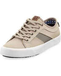 Ben Sherman - James Lace-up Canvas Sneaker - Lyst