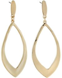 Lydell NYC - Rounded Diamond Dangle Earrings - Lyst