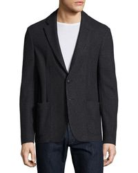 Armani - Technical Jersey Soft Jacket - Lyst