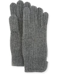 """Portolano - Men's Cashmere 11"""" Gloves - Lyst"""