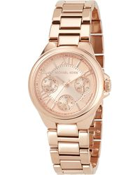c044aceb1057 MICHAEL Michael Kors - 33mm Mini Bailey Chronograph Bracelet Watch Rose  Golden - Lyst
