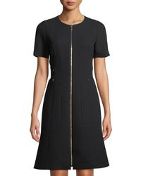 Lafayette 148 New York - Petite Sonya Wool Shift Dress - Lyst
