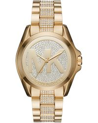 MICHAEL Michael Kors - 43mm Jet Set Crystal Bracelet Watch - Lyst