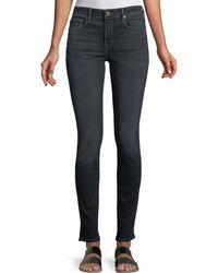 Vince - Five-pocket Mid-rise Skinny Jeans - Lyst