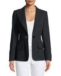 ESCADA - Basiay One-button Jacket - Lyst