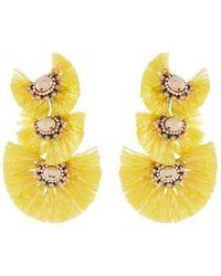 Nakamol - Triple-drop Fringe Earrings - Lyst