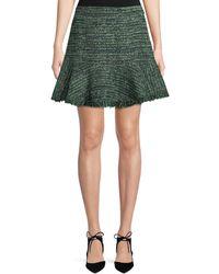 Rebecca Taylor | Flounce-hem A-line Skirt | Lyst