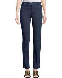 Neiman Marcus - Straight-leg Denim Pants - Lyst