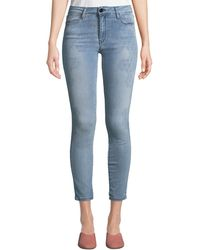 Brockenbow - Reina Distressed Skinny Jeans - Lyst