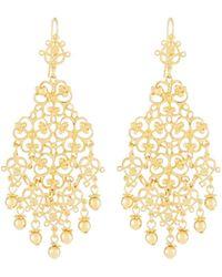 Jose & Maria Barrera - Large Filigree Drop Earrings - Lyst