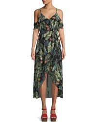 Sanctuary - Sofia Ruffled Maxi Dress - Lyst