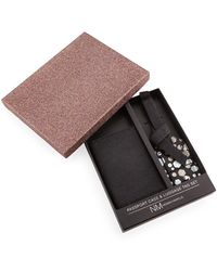 Neiman Marcus - Passport Case & Luggage Tag Set - Lyst