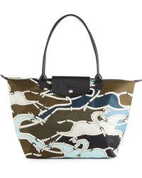 Longchamp - Le Pliage Gallop Large Shoulder Bag - Lyst