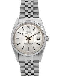 Rolex - Pre-owned 36mm Men's Datejust Jubilee Automatic Watch - Lyst