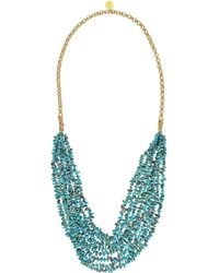 Devon Leigh - Multi-strand Turquoise Necklace - Lyst