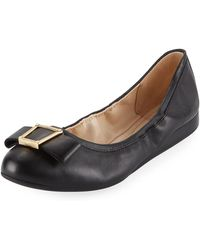 Cole Haan | Emory Bow Ballerina Flat | Lyst